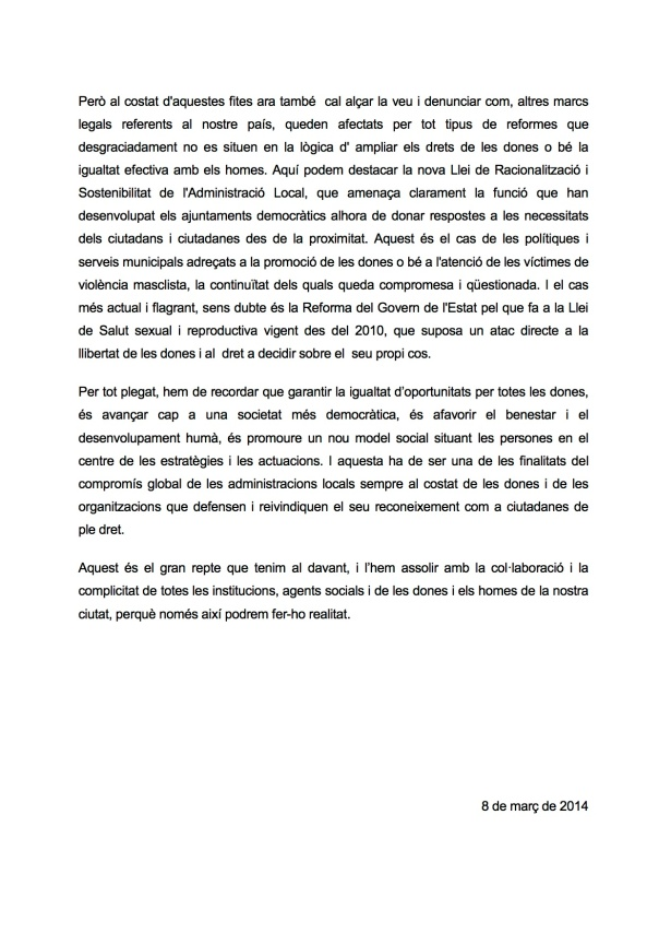 Manifest 2014 2